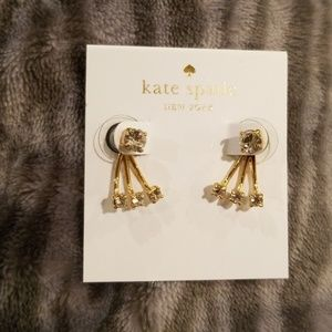 Kate Spade Gold Diamond Ear Jacket